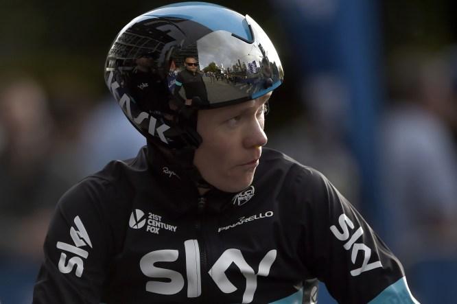 CRITÉRIUM DU DAUPHINÉ: Chris Froome jager ledelse når 2. etappe av 8-dagersrittet Critérium du Dauphiné går i ettermiddag. FOTO: NTB scanpix
