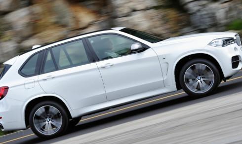 Bruktbil 2016 BMW X5 M50d: Her kan du spare mye på nesten ny versting-SUV