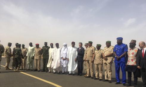 USA bygger dronebase i Niger