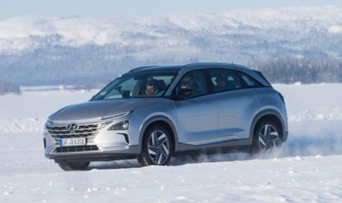 Iskald test for Hyundais elbiler -
