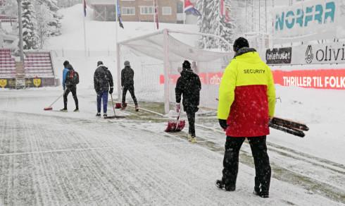 Tromsø - Strømsgodset er utsatt
