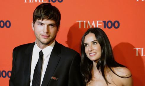 Ashton Kutcher om bruddet med Demi Moore: – Spiste ikke på én uke