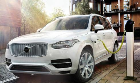 Volvos SUV-er blir elbiler