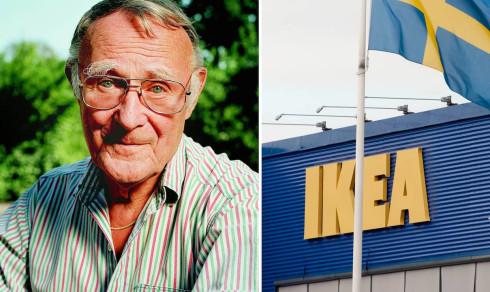 Stora hyllningen till Ingvar Kamprad – hel gata döps om för att hedra Ikea-grundaren
