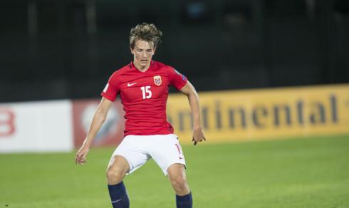 Berge og Ødegaard på europeisk talentliste