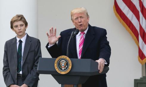 US Secret Service alerted over Peter Fonda's tweets about Barron Trump