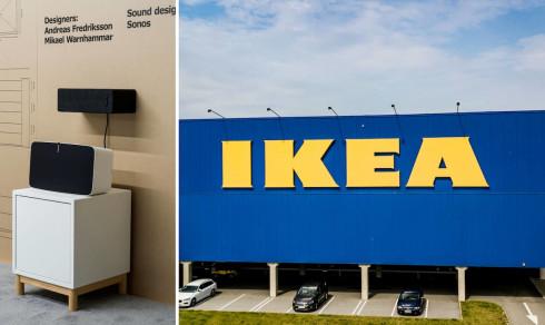 Ikeas nya skåp är en möbel – och högtalare
