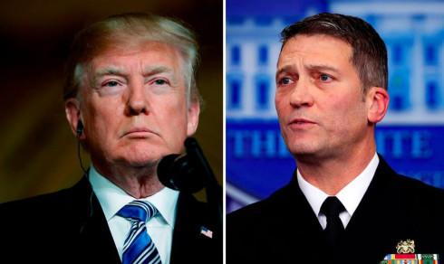 Efter anklagelserna: Trumps läkare avstår ministerpost