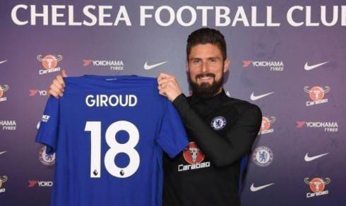 Olivier Giroud (31) klar for Chelsea