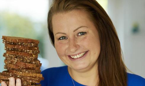 Ned i vekt med rugbrød: Sandra (32) gikk ned tre kilo på fem dager