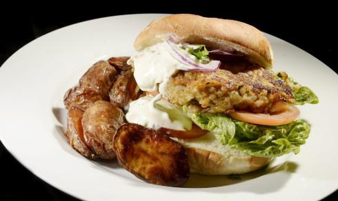 Saftig burger – helt uten kjøtt (+)