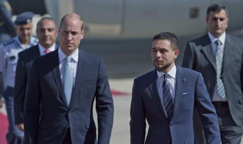Prins William på historisk Midtøsten-reise
