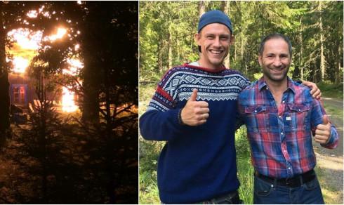 Norske Robin i flammedrama på svenske «Farmen»