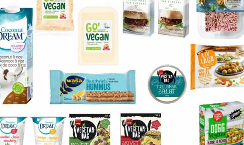 Salg av vegetarmat eksploderer: Her er høstens nyheter