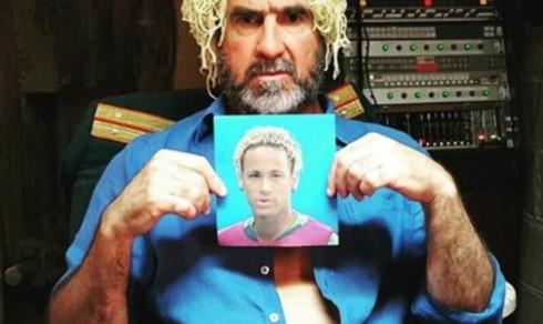 Cantona gjør narr av Neymar med spagetti-hår