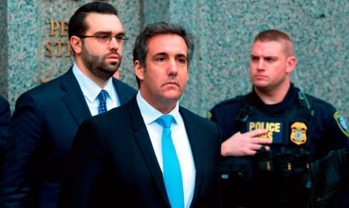 Trump erkjenner at Cohen jobbet for ham da han inngikk avtale med pornostjerne