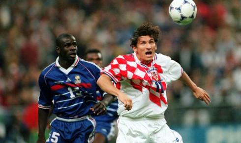 Se när Frankrike slog ut Kroatien i VM 1998
