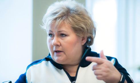 Solberg vil ha felles front mot Nord-Korea