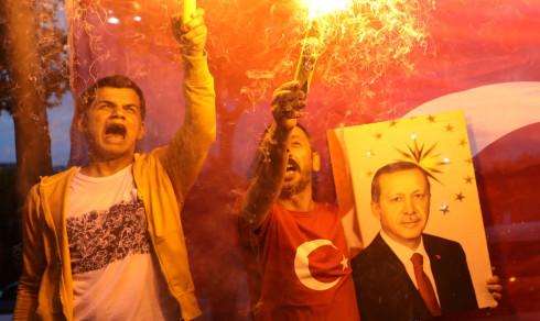 Erdogan declares himself winner of Turkey's presidential election
