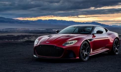 Nytt vakkert udyr fra Aston Martin -