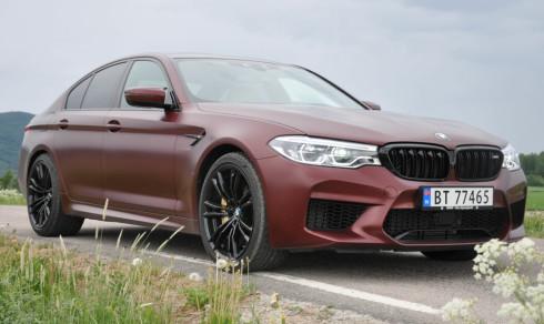 Test 2018 BMW M5: Denne bilen har to personligheter