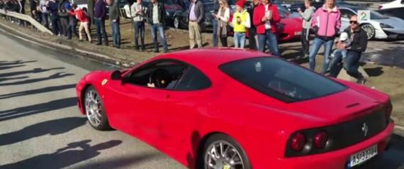 Ferrari 360 Modena: Far og sønn på drømmetur i 19 år gammel superbil