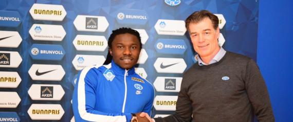Chima Chukwu klar for Molde-comeback