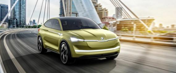 Skoda Vision E eRS: Skoda kommer med spesialutgave av el-SUV
