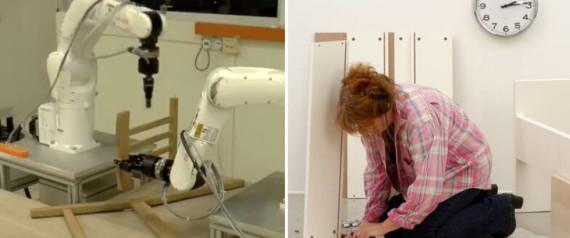 """Roboten monterar Ikeas stol """"Stefan"""" på 20 minuter"""