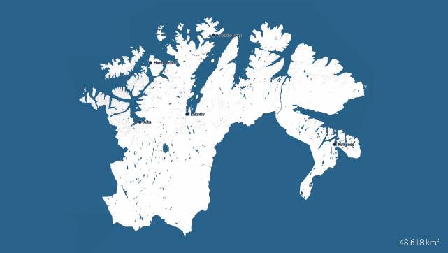 Hvor Stort Er Egentlig Finnmark