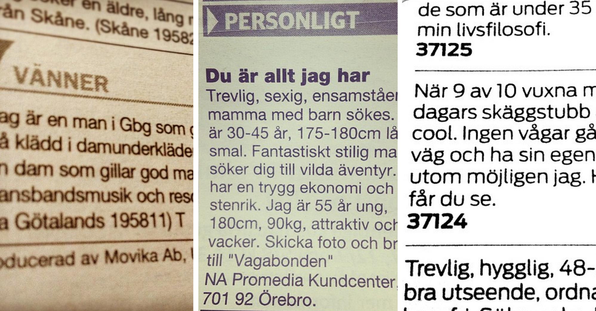 kontaktannonser roliga Tromsø