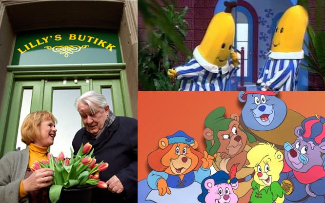 Husker Du Lillys Butikk Og Bananer I Pyjamas Her Er Barne