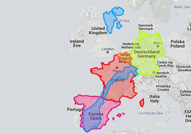 Kartet ditt forteller ikke sannheten: Så stort er Norge ...