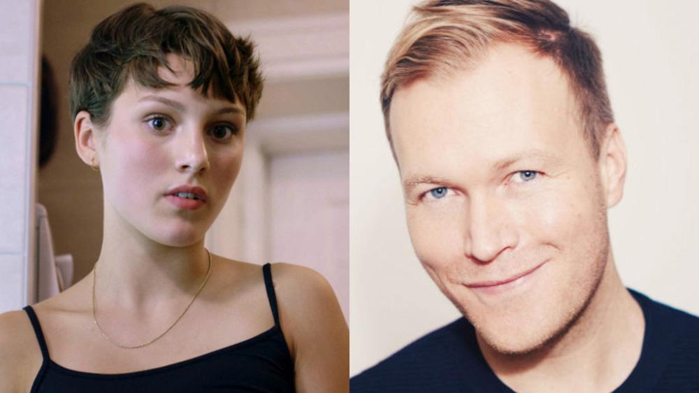 Ruby Dagball i «Skam» (NRK)og Christian Rubeck.