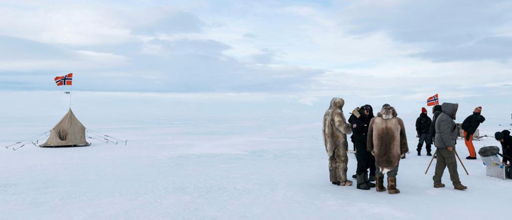 Fra filmsettet på Island. (FOTO: Motion Blur)