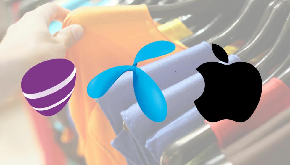 Quiz: Ser du hvilken logo som er ekte og hvilken som er falsk?