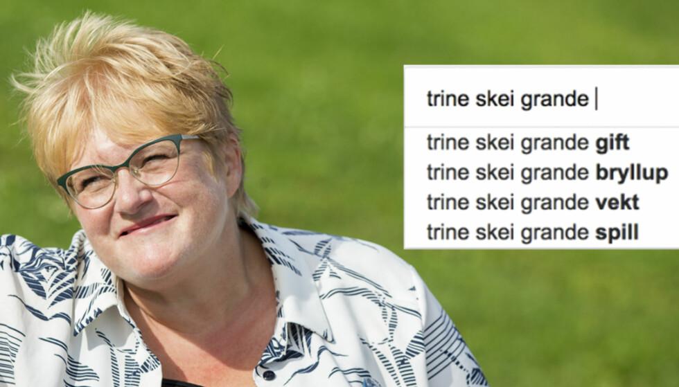 Dette lurer alle på om Trine Skei Grande