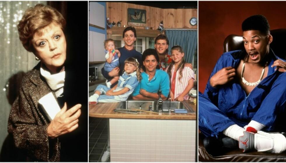 Quiz: Hva husker du fra 90-tallets TV-serier?