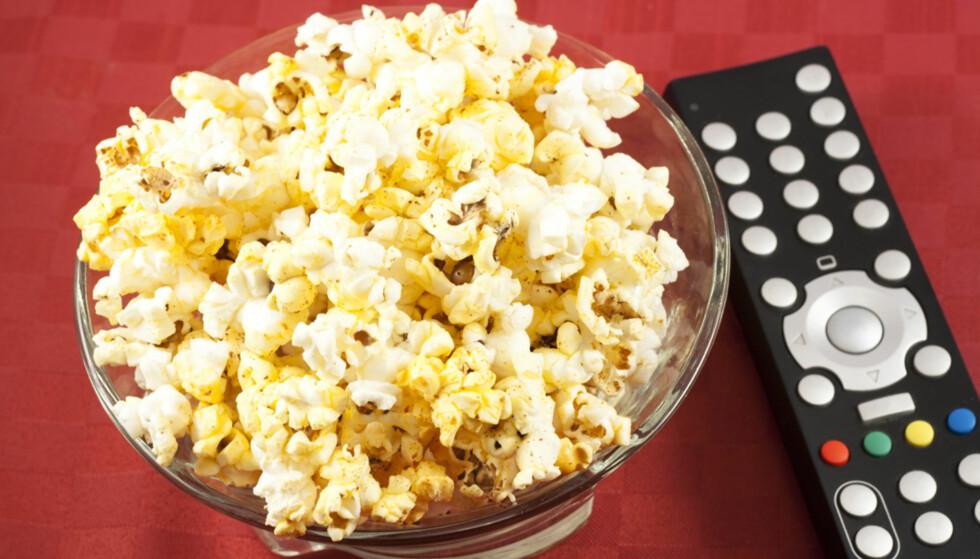 Derfor er popcorn sunnere enn grønnsaker