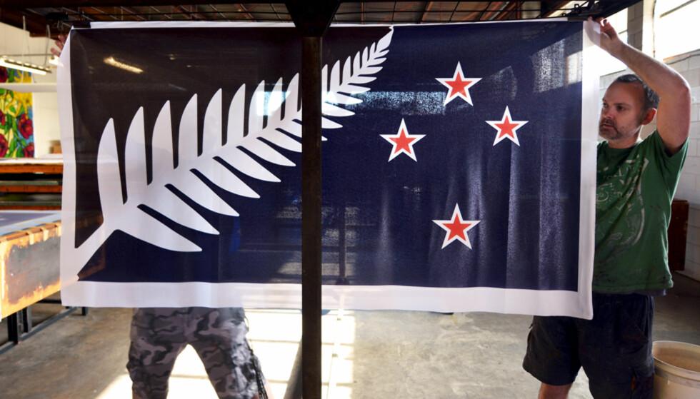 Dette kan bli New Zealands nye flagg