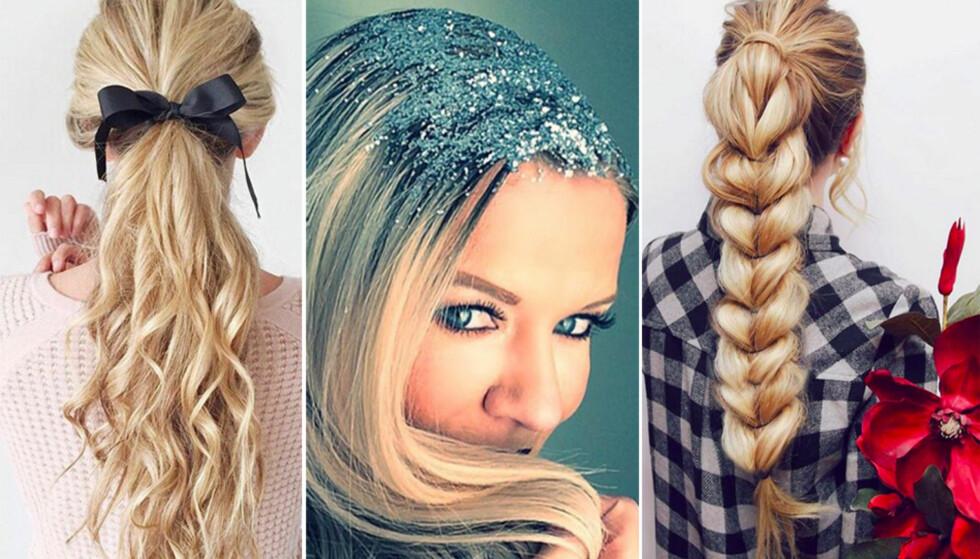 12 perfekte hårfrisyrer til julebordet