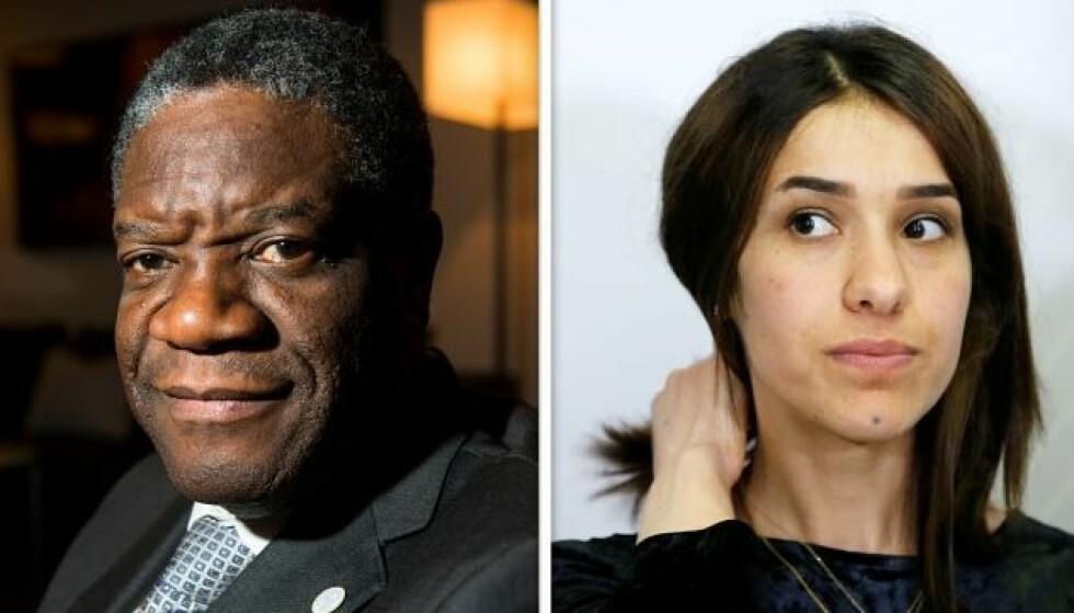 Nobels fredspris til Denis Mukwege og Nadia Murad