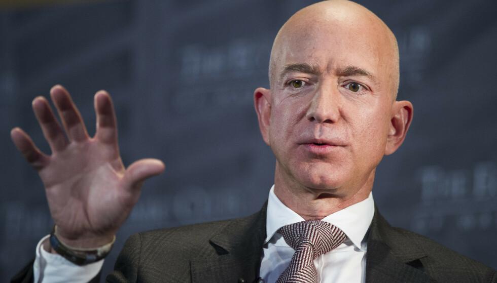 Grunnlegger og administrerende direktør i Amazon, Jeff Bezos. Foto: Cliff Owen / AP / NTB scanpix