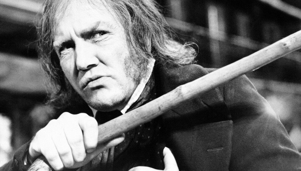 Den britiske skuespilleren Albert Finney, her fotografert under innspillingen av «Scrooge» i 1970, er død, 82 år gammel. Foto: R. Dear / AP / NTB scanpix