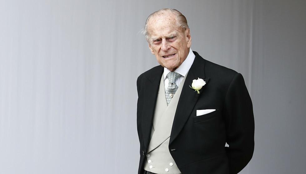 Prins Philip slipper tiltale etter at han krasjet med en annen bil forrige måned. Foto: Alastair Grant / AP / NTB scanpix