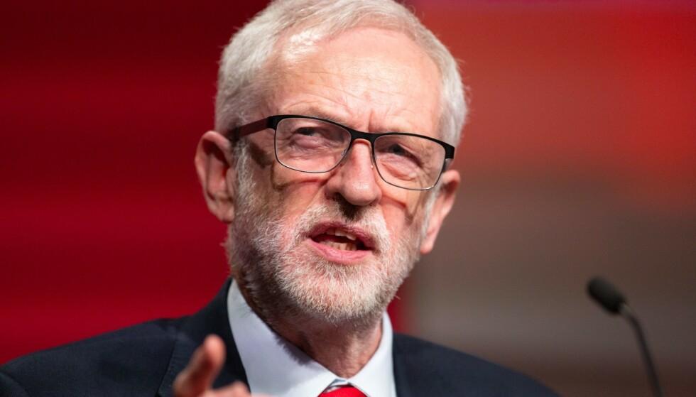 Labour-leder Jeremy Corbyn åpner nå for en ny folkeavstemning. Foto: NTB Scanpix