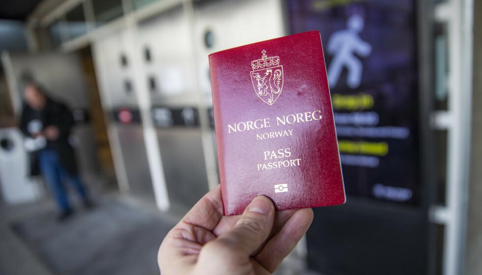 Gyldighetstiden for pass kan halveres