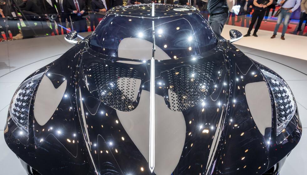 En anonym kjøper bladde opp 164 millioner kroner for verdens dyreste bil. FOTO: Martial Trezzini/Keystone via AP