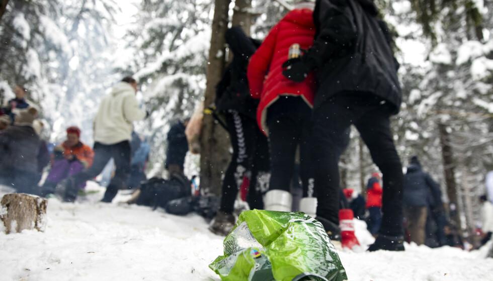 En person ble skadd etter masseslagsmål under femmila i Kollen. Foto: Tore Meek / NTB scanpix