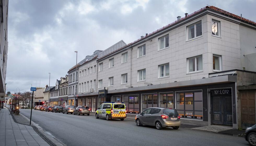 Det tidligere hotellet der ekssamboeren til kvinnen ble funnet død i 2014. Foto: Tor Erik Schrøder / NTB scanpix